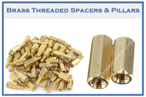 Brass Threaded Spacers & Pillars