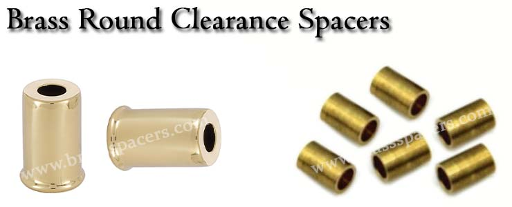 Brass Round Clearance Spacer