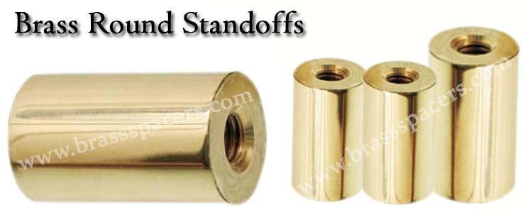 Brass Round Standoffs