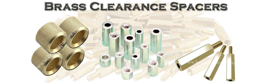 Brass Clearance Spacers