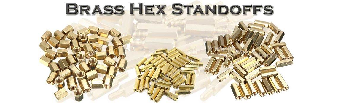 Brass Hex Standoffs
